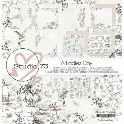Studio  73 A Ladies Day-  12 x 12 Paper Collection