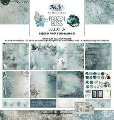 3 Quarter Designs 12 x 12 Collections -Frozen Bliss