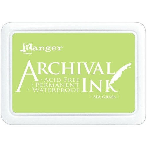 Ranger Ink - Stamp Pad Size O - Sea Grass