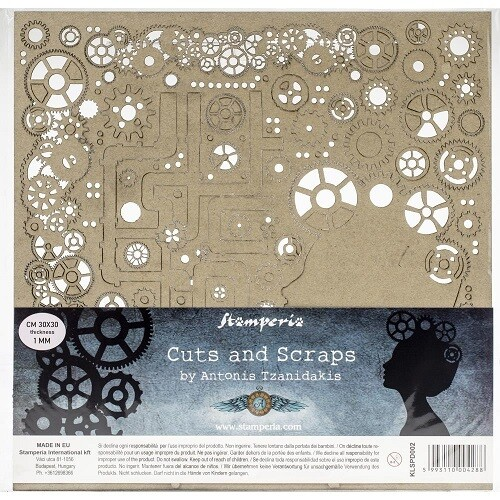 Stamperia - Cuts & Scraps - Ladies and Gears