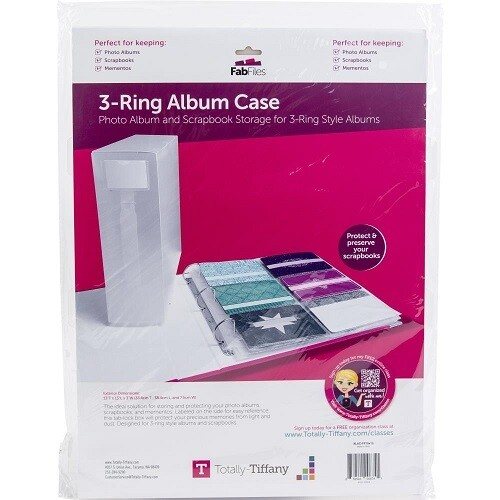 Totally Tiffany - 3 Ring Binder Album Cover