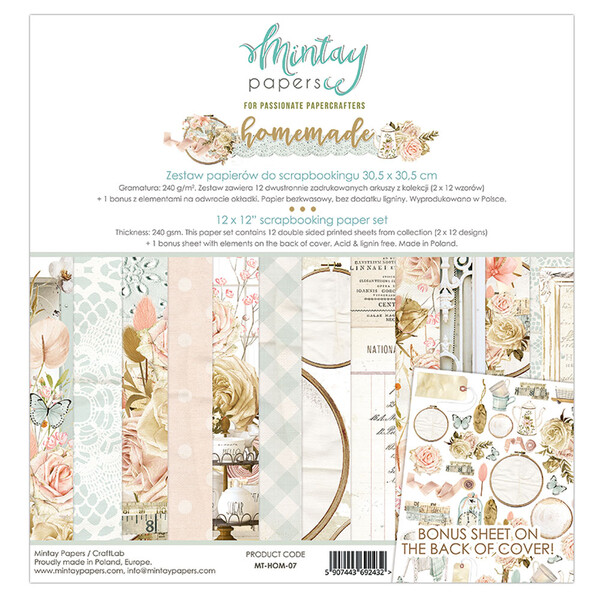 Mintay by Karola - Homemade 12 x 12 Collection