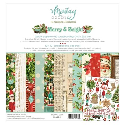 Merry and Bright - 12 x 12 Collection