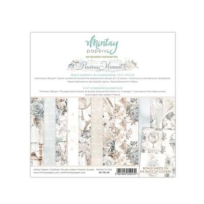 Mintay by Karola - Precious Moments - 6 x 6 - Scrap Pad