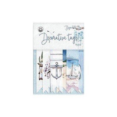 P13 - Beyond The Sea -Tags 9 pieces