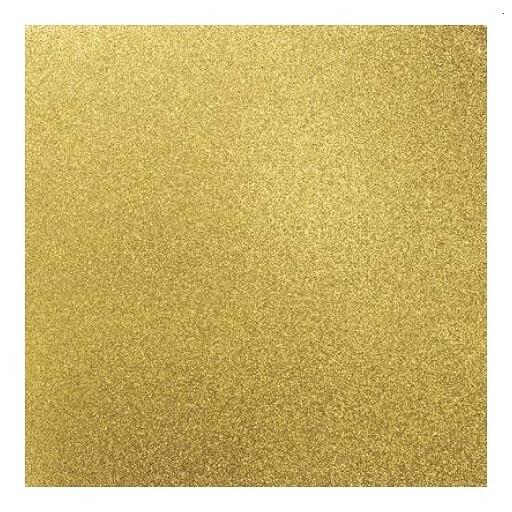 Glitter Cardstock -Golden