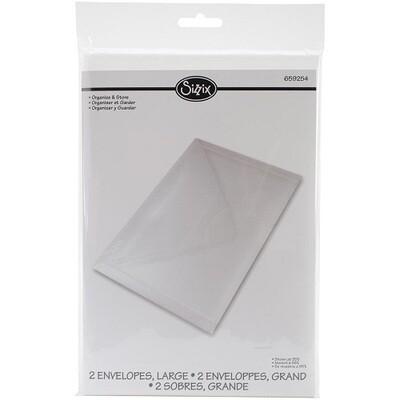 Sizzix - Storage Envelopes for Metal Dies -  2 Pack - 9