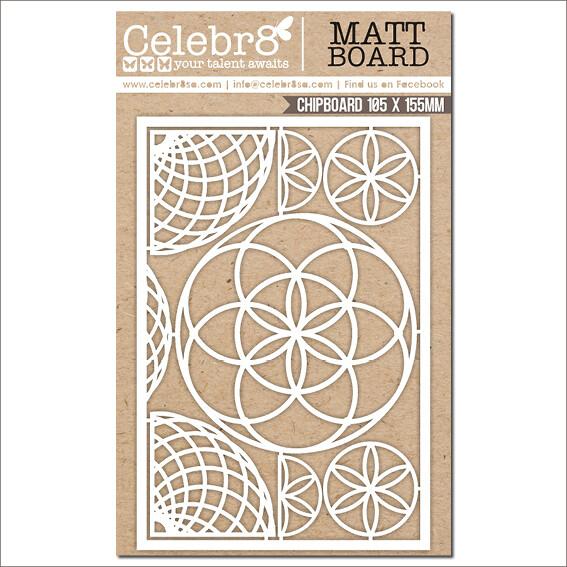 Celebr8 - Circular Elements Chipboard