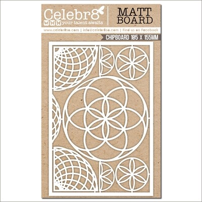 Celebr8 - Circular Elements Chipboard
