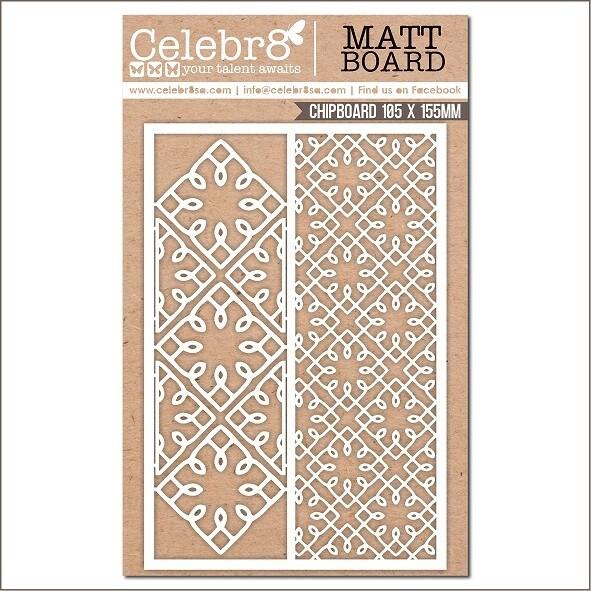 Celebr8 - Mesh Patterns - Chipboard - MB4648