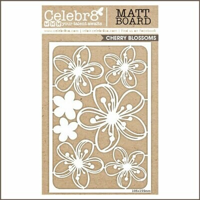 Celebr8 - Cherry Blossoms Chipboard