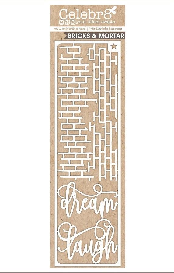 Celebr8 - Dream / Laugh with Bricks - Chipboard - MB3504
