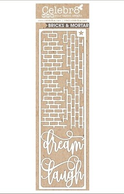 Celebr8 - Dream / Laugh with Bricks Chipboard