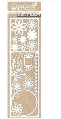 Celebr8 - Daisy 1 Chipboard