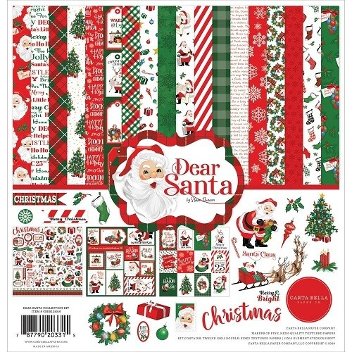 Carta Bella - Dear Santa 12 x 12 Paper Collection