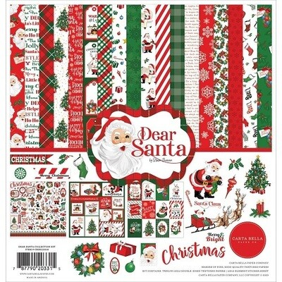 Carta Bella - Dear Santa 12 x 12 Paper Collection