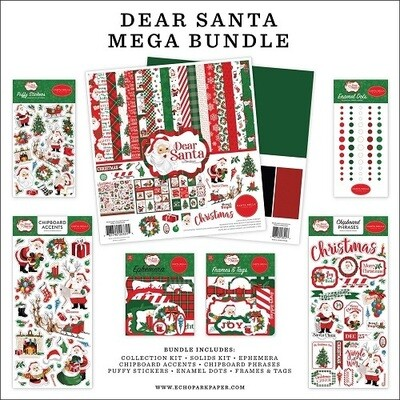 Carta Bella - Dear Santa 12 x 12 Bulk Paper Collection