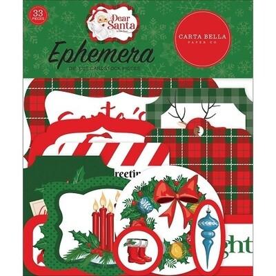 Carta Bella - Dear Santa Ephemera Pack 1
