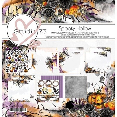 Studio 73 -  Spooky Hollow 12 x 12 Paper Collection
