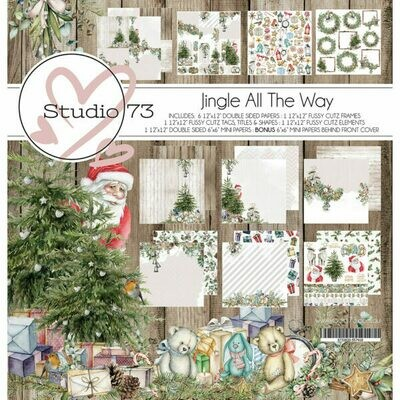 Studio 73 -  Jingle All The Way 12 x 12 Paper Collection