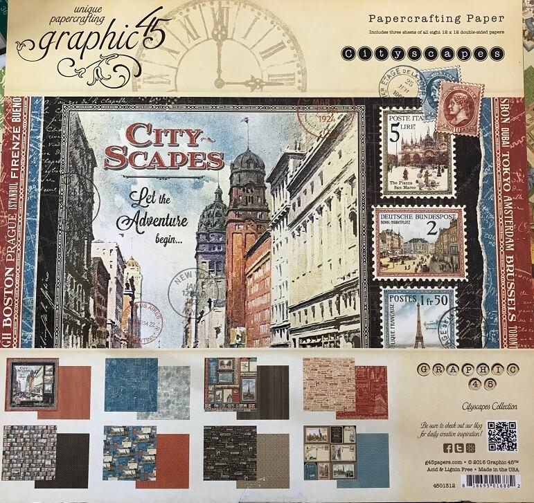 Graphic 45 - Cityscapes - 12 x 12