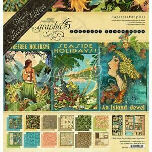 Graphic 45 - Tropical Travelogue Collectors  Pack - 12 x 12