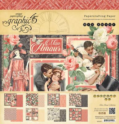 Graphic 45 - Mon Amour - 12 x 12