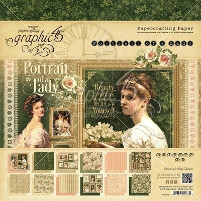 Graphic 45 - Portrait of A Lady Collection Pack  12 x 12