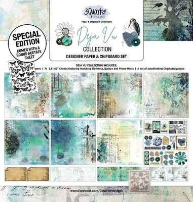 3 Quarter Designs - 12 x 12 Collections - Deja Vu Collection