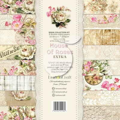 Lemoncraft - House of Roses Extra 12 x 12 Collection Pack