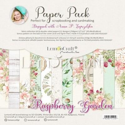 Lemoncraft - Raspberry Garden 12 x 12 Collection Pack