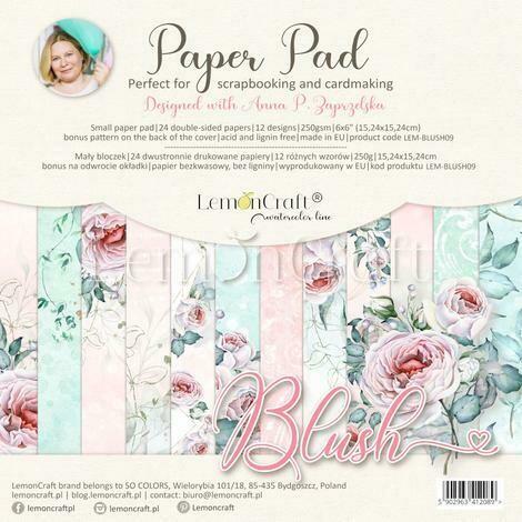 Lemoncraft - 6 x 6 Scrap Pad - Blush
