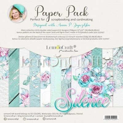 Lemoncraft - Silence12 x 12 Collection Pack
