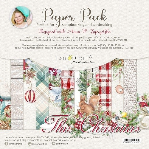 Lemoncraft - This Christmas 12 x 12 Collection Pack