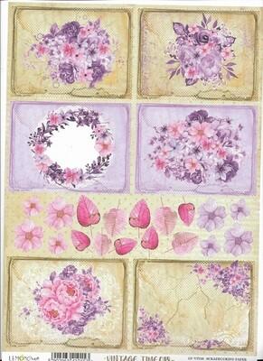 Lemoncraft - Vintage Time 018 Cut Out Sheet