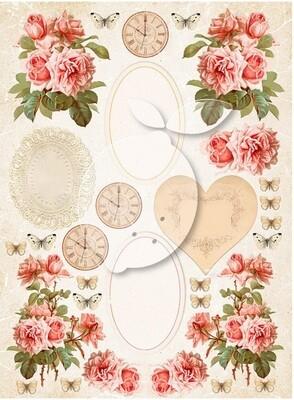 Lemoncraft - Vintage Time 038 Cut Out Sheet