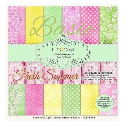 Lemoncraft - Fresh Summer 12 x 12  Collection