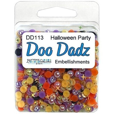 Buttons Galore Doo Dadz - Halloween Party