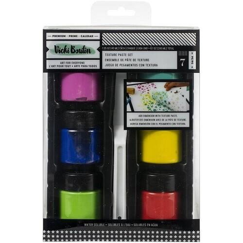 Vicki Boutin - Assorted Texture Paste Kit