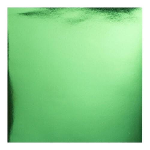 Mirror Foil Card - Green 12 x 12