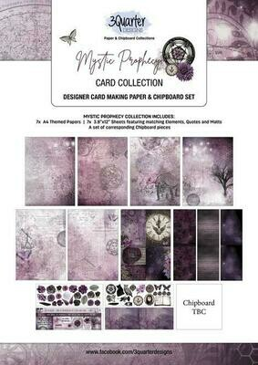 3 Quarter Designs - Card Making Kit - Mystic Prophecy Collection
