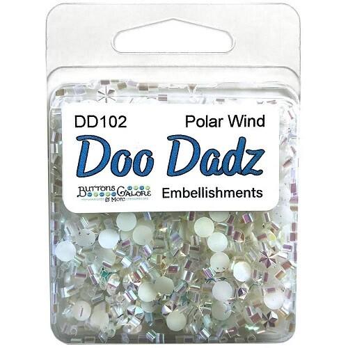 Buttons Galore Doo Dadz - Polar Wind