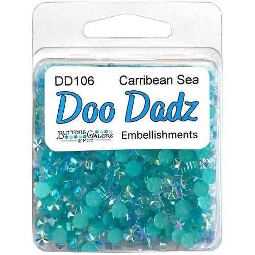 Buttons Galore & More  - Doo Dadz - Caribbean Sea