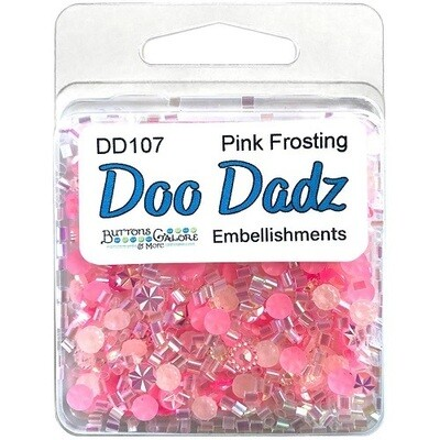 Buttons Galore Doo Dadz - Pink Frosting