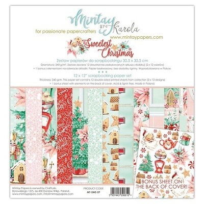 Sweetest Christmas By Mintay 12 x 12 Collection