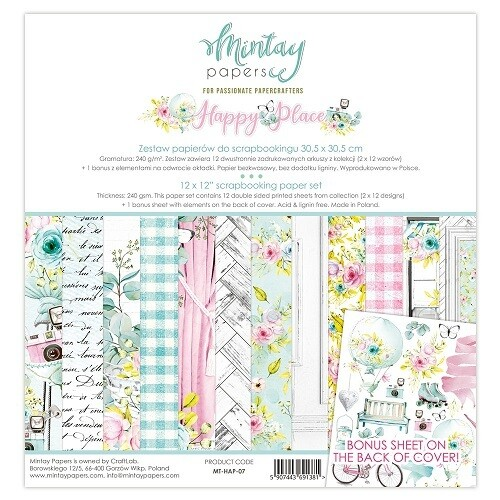 Happy Place By Mintay 12 x 12 Collection
