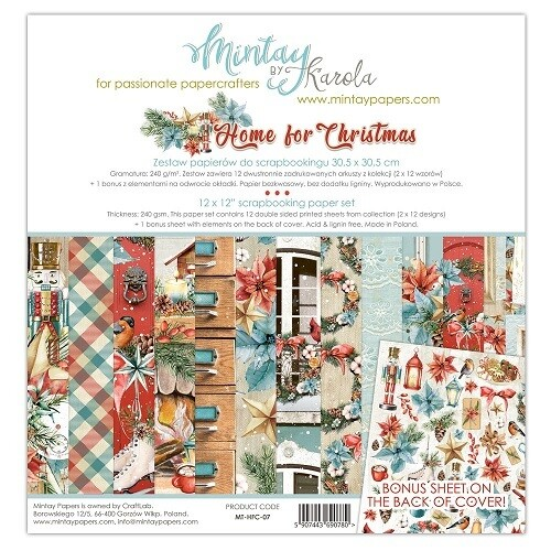 Home For Christmas By Mintay 12 x 12 Collection