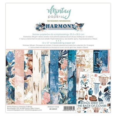 Harmony By Mintay 12 x 12 Collection