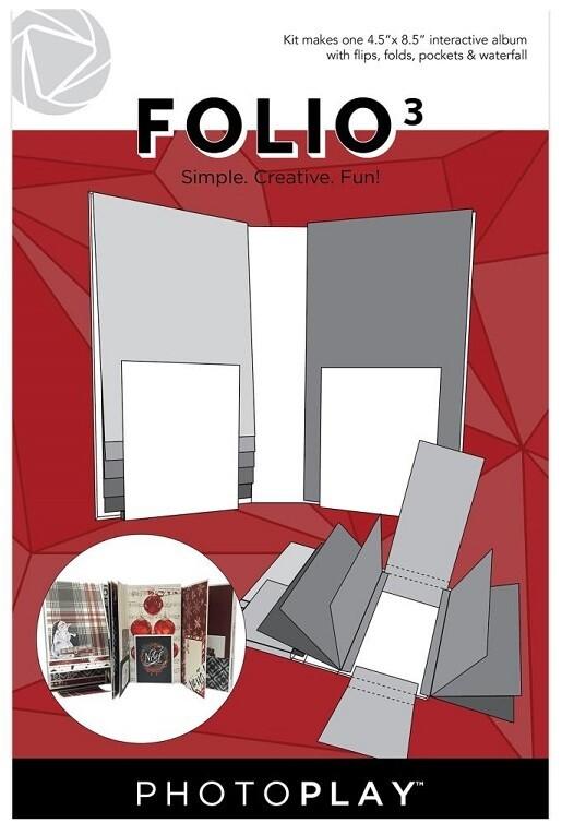 "Photoplay - Makers Series Folio 3 -White - 4.5"" x 8.5"""