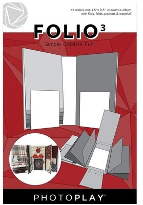 Photoplay - Makers Series Folio 3 -White - 4.5